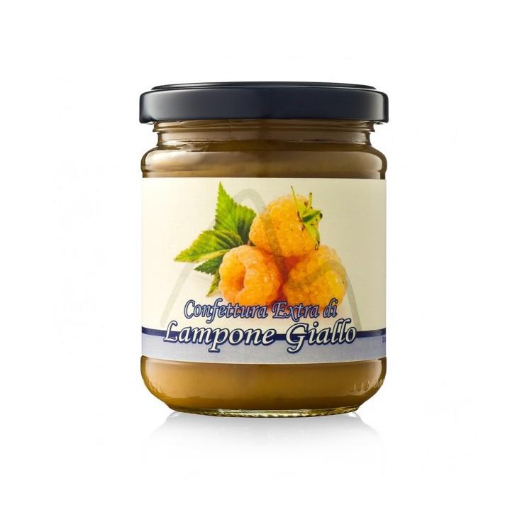 Confettura extra di lamponi gialli